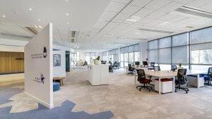 Aménagement open space entreprise