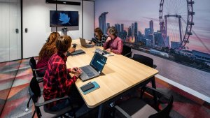 Salle de vidéo-conférence design
