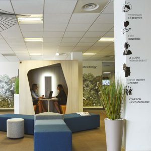Accompagnement personnalisé aménagement bureaux